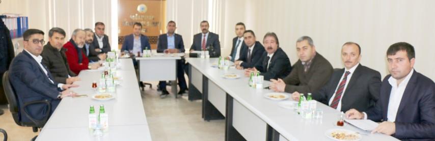 Odalar ve Borsalar müşterek  toplantısı Boğazlıyan'da yapıldı