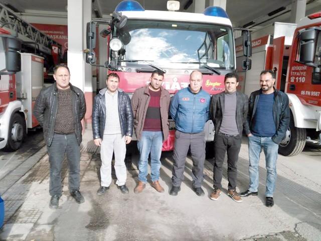 Çekerek Belediyesi İtfaiye  ekipleri Ankara'da kursa katıldı