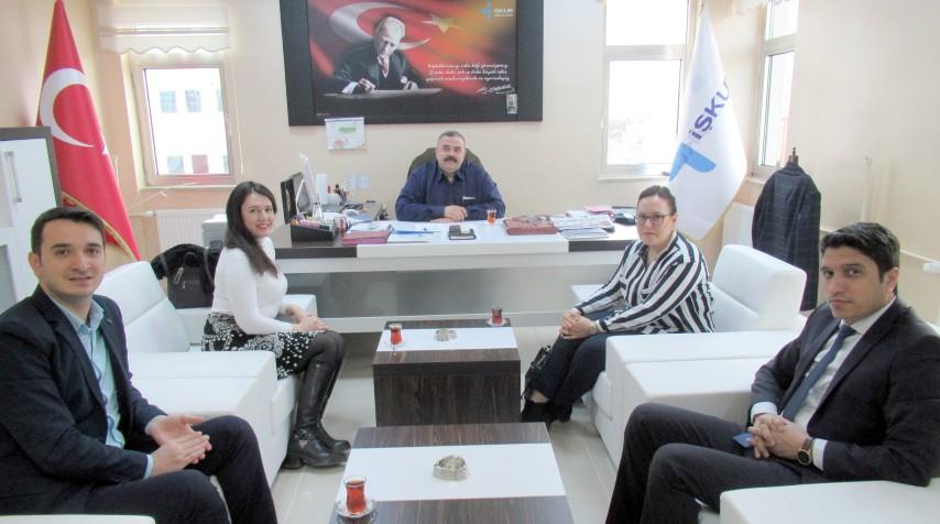 İş kulübü liderleri Yozgat'ta eğitim verdi
