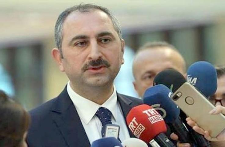 Adalet Bakanı Gül: O avukat hakkında  ceza ve disiplin soruşturması talep ettik