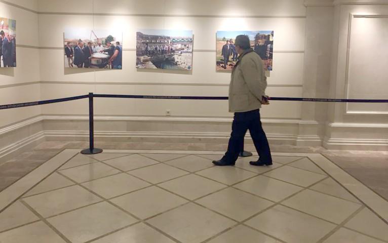Sarıkaya fotoğrafları  Ankara'da sergilendi