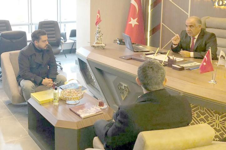 TSO Başkanı Alakoç ve yönetiminden MÜSİAD'a ziyaret