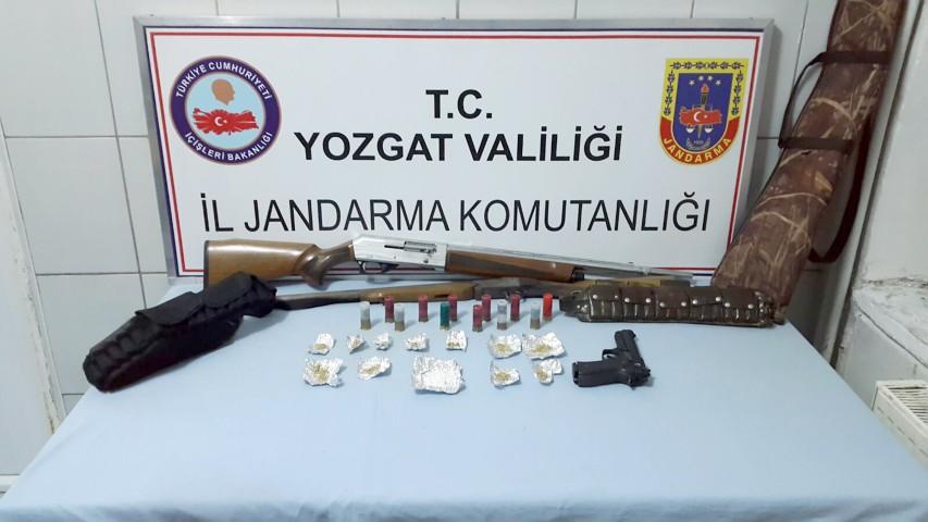 Jandarma'dan uyuşturucu operasyonu: 1 gözaltı