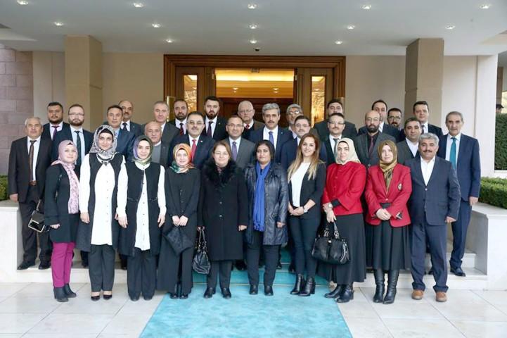Bozdağ, AK Parti İl Yönetimini kabul etti