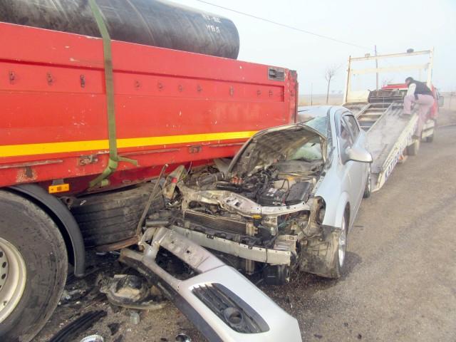Trafik kazasında 1 kişi ağır yaralandı