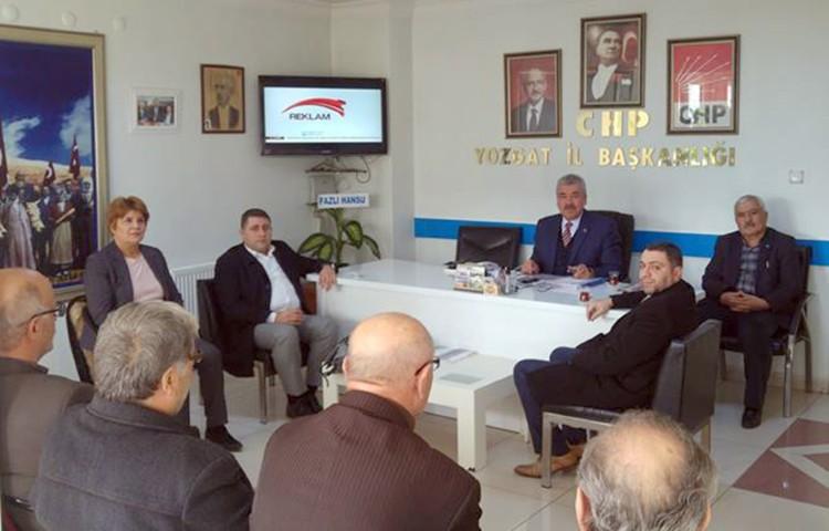 MHP'den CHP'ye hayırlı olsun ziyareti