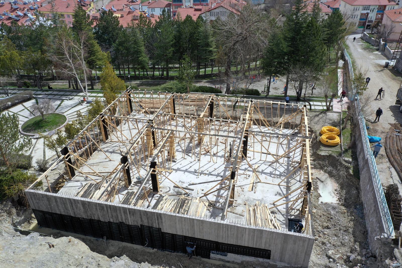 'Kreş ve Gündüz Bakım Evi' inşaatı devam ediyor