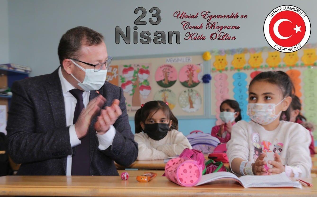 Vali Polat: 23 Nisan Cumhuriyetin temellerinin atıldığı gündür