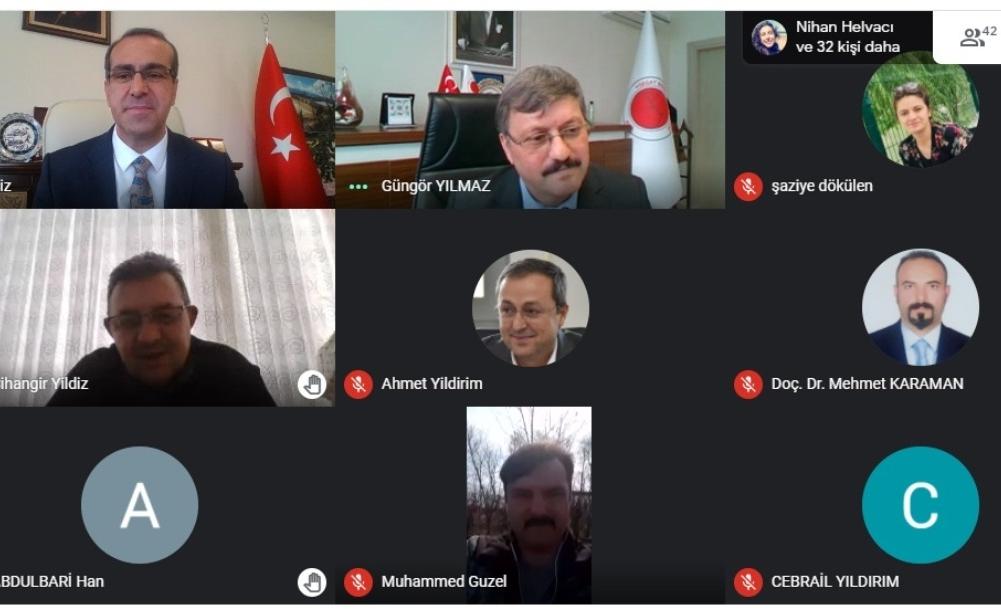 Online Kenevir semineri