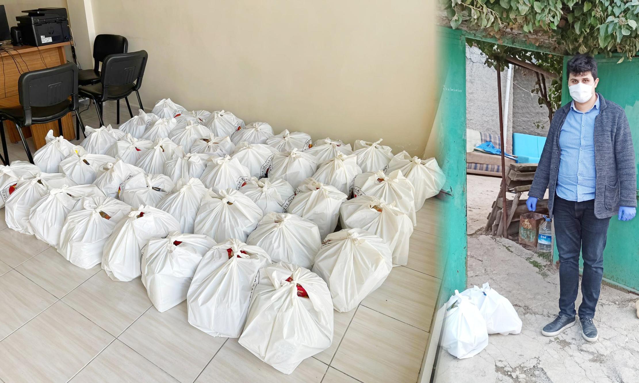 Ramazan yardımları devam ediyor