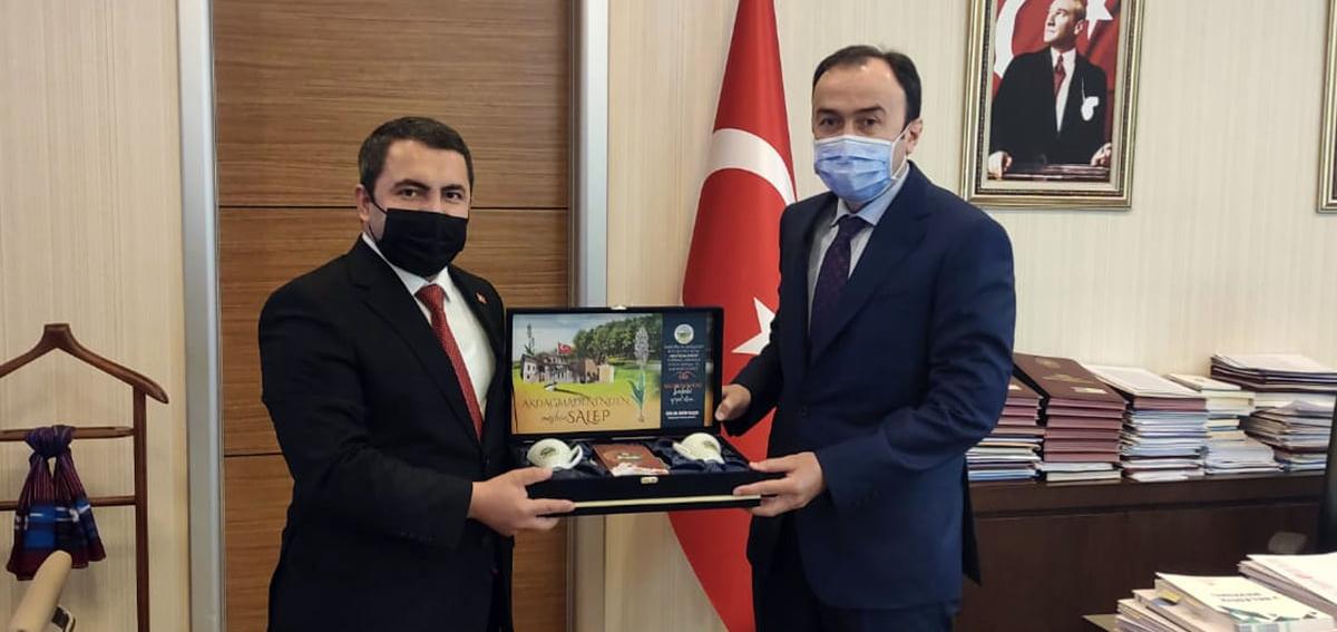 Başkan Yalçın'dan Konak'a ziyaret