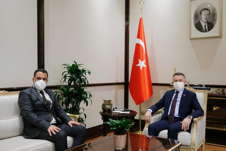Başkan Ekinci'den Oktay'a ziyaret