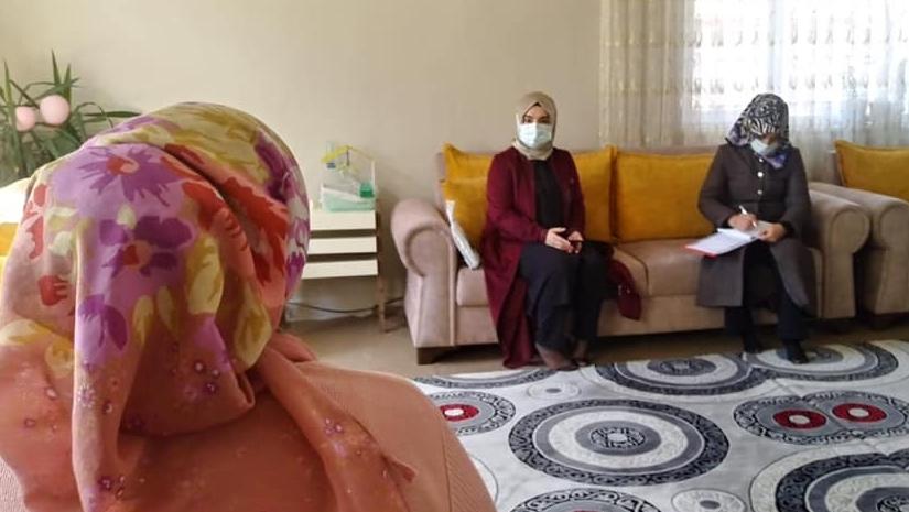 Kadınlardan ev ziyareti
