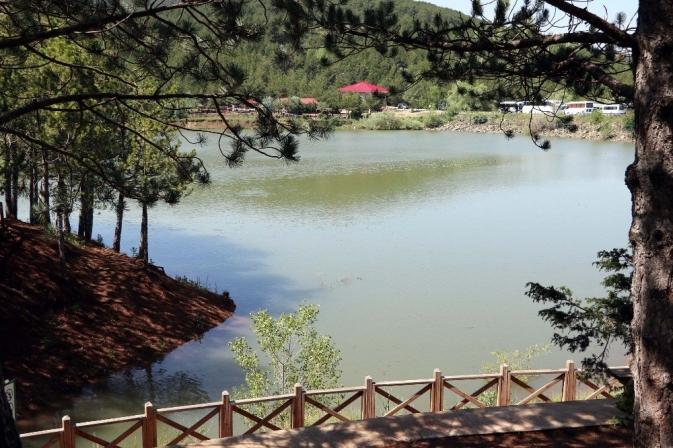 Yağışlar göletlerde su seviyesini yükseltti