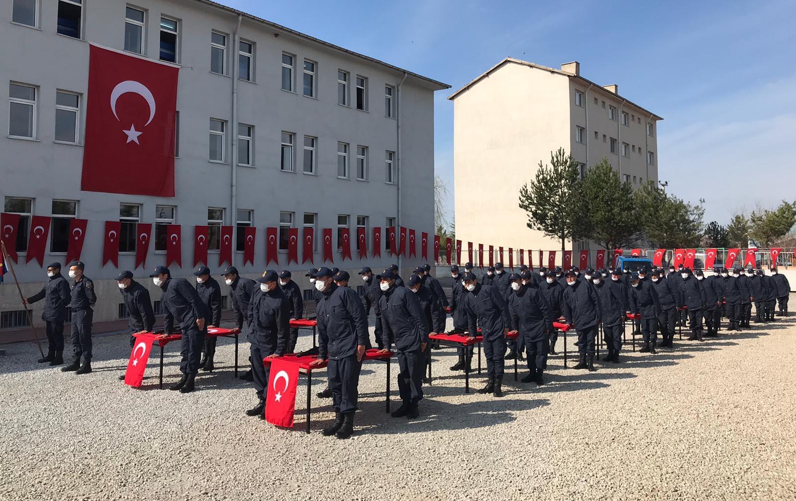 Yozgat'ta 65 acemi er yemin etti