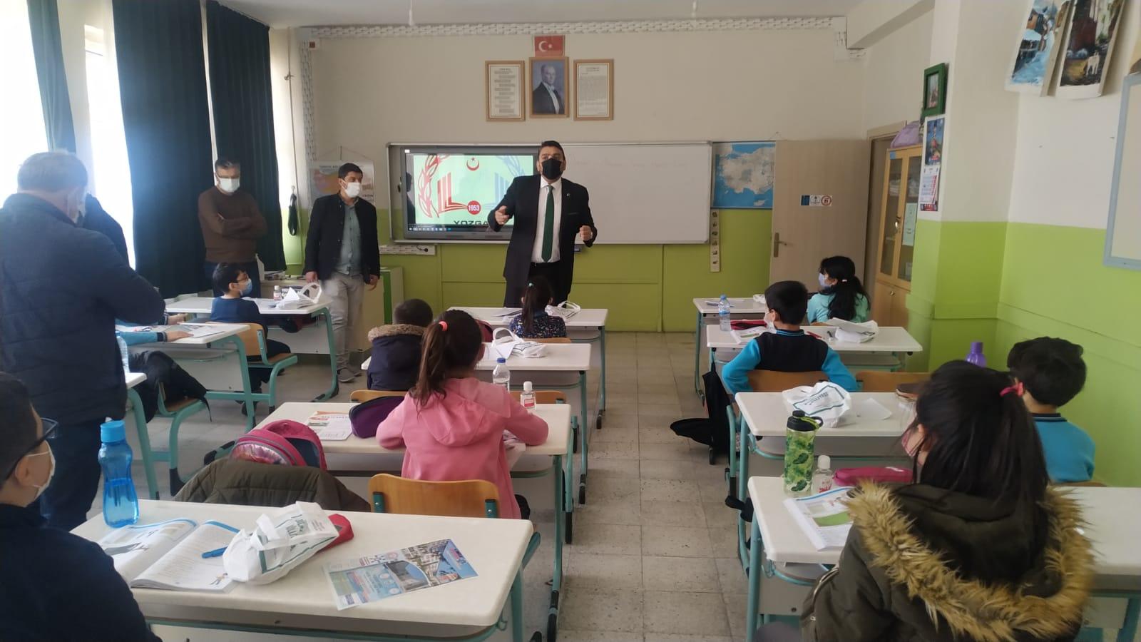 4. sınıflara özel sınav