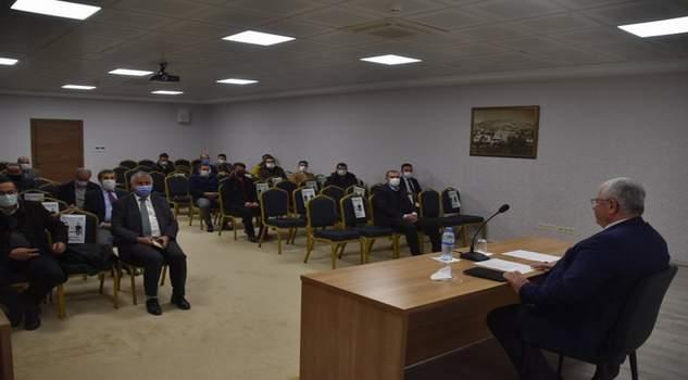 Yazıcı, Okul Müdürleri ile toplantı yaptı