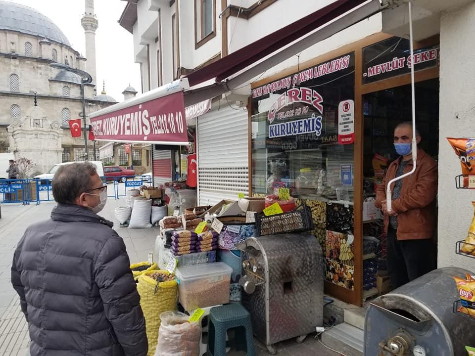 Yiğitler diyarı Yozgat esnafına sahip çıkıyor