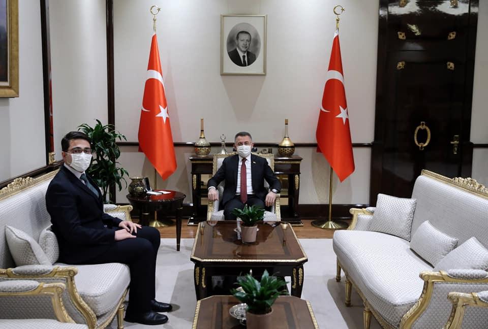Taşdemir'den Oktay'a ziyaret