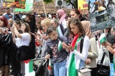 Sırbistan'da İsrail terörü kınandı