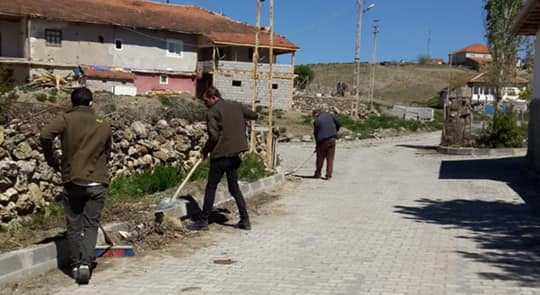 Kadışehri'nde bayram temizliği