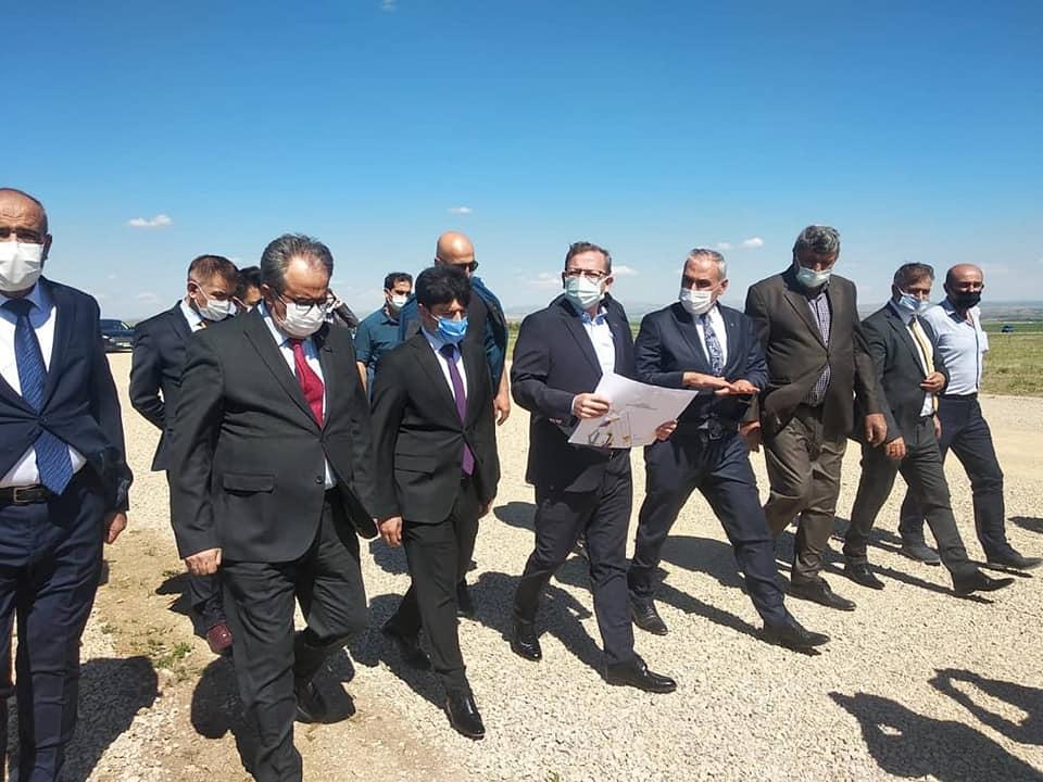 Vali Polat, 3. OSB'de incelemelerde bulundu