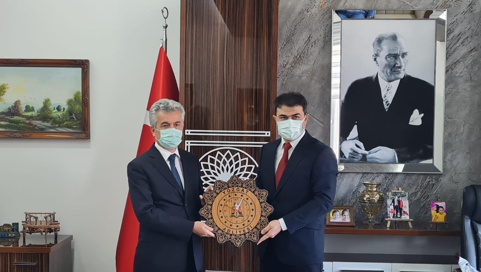 Danıştay Başkanı Yiğit'ten Başsavcı Uçak'a ziyaret