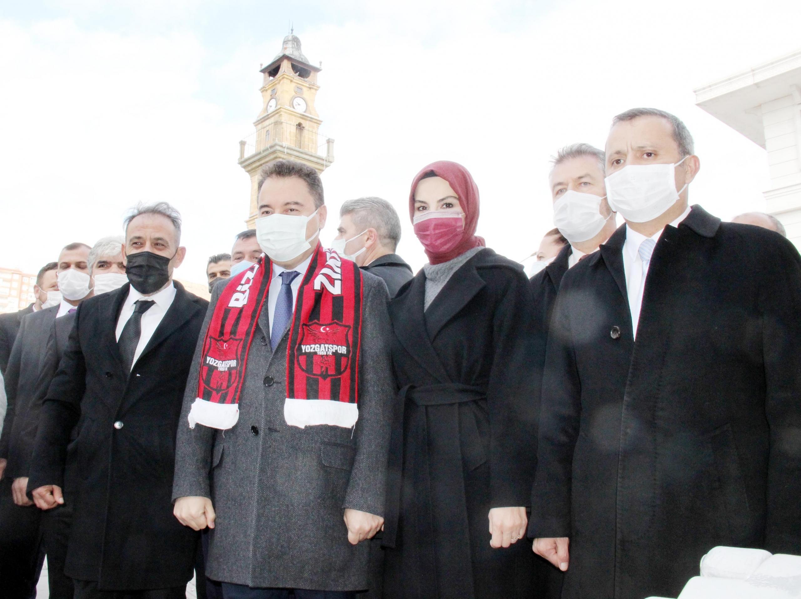 Babacan, Yerköy'de parti  binasının açılışına katılacak