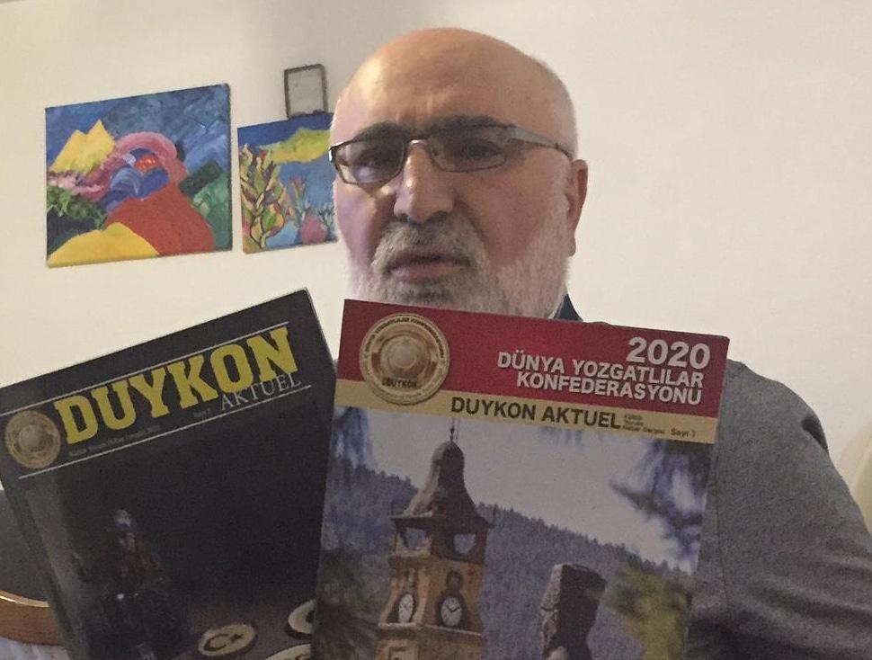DUYKON Aktüel Dergisi'nin 2. sayısı çıktı