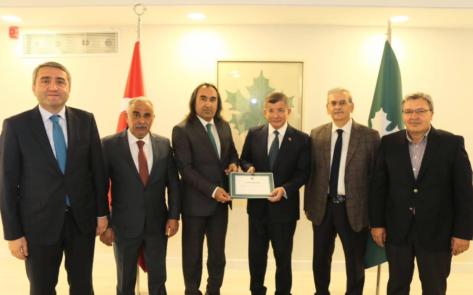 Gelecek Partisi Yozgat'ta yola Aydoğmuş ile devam edecek