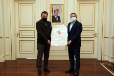 Başkan Alpkoçak'tan destek