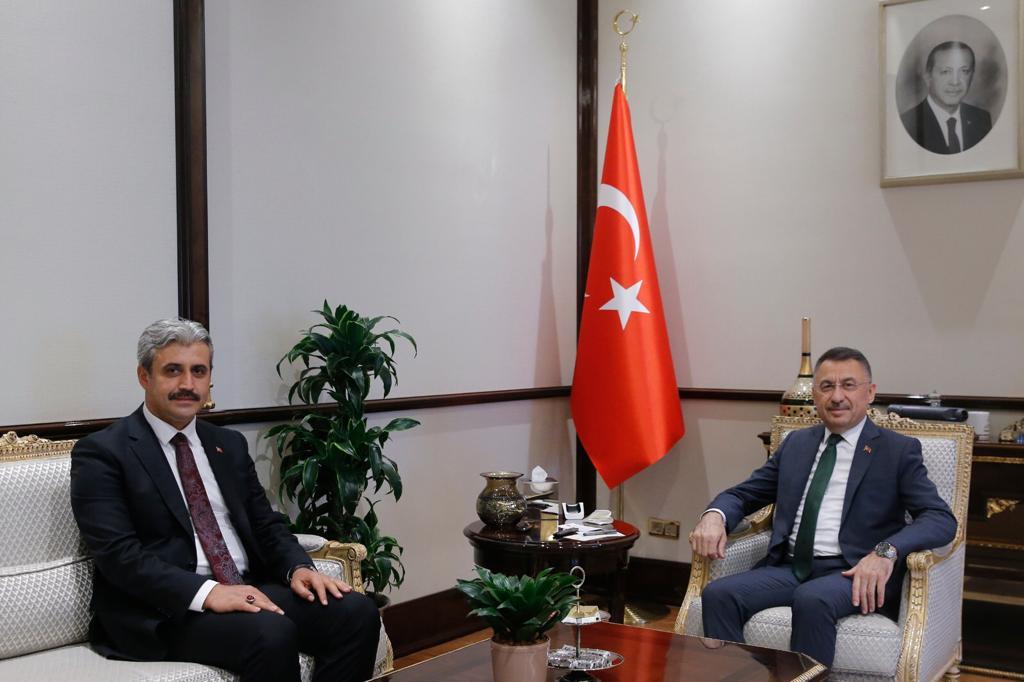 Başkan Köse Oktay'ı ziyaret etti