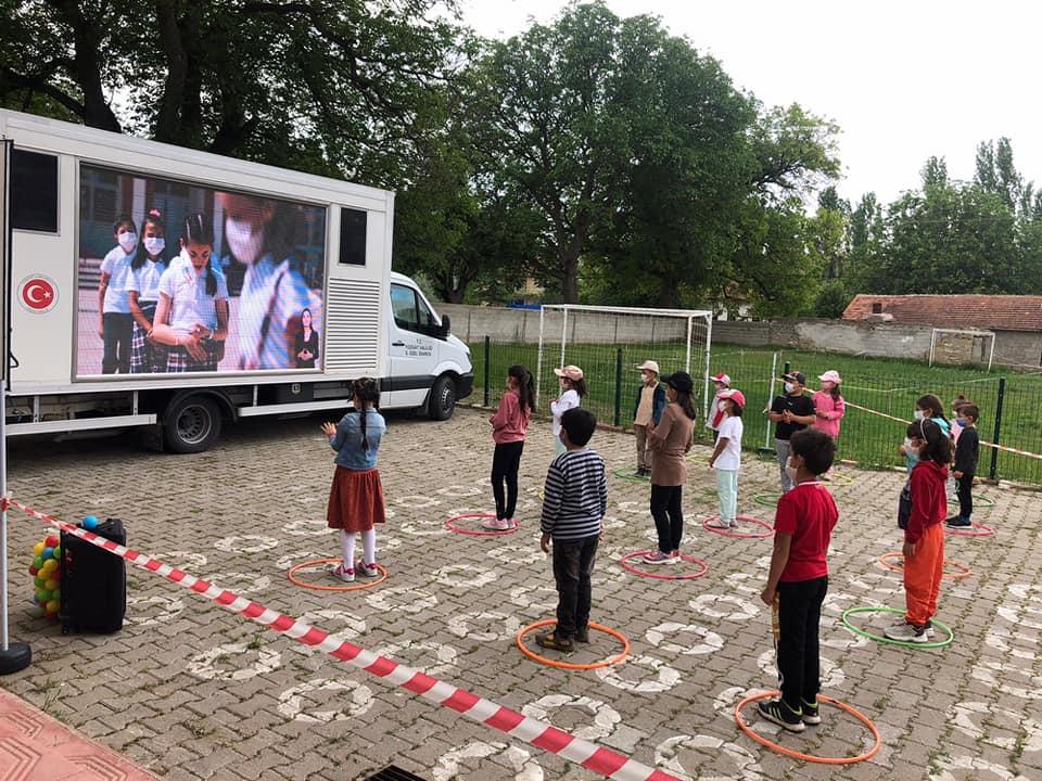 Sarıkaya'da PANDEMiX projesi gerçekleştirildi