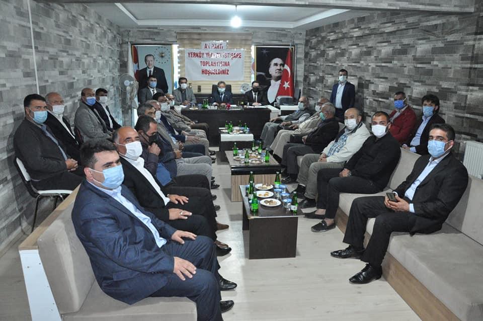 AK Parti Yerköy İlçe Teşkilatında istişare toplantısı