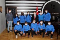 Sporcular Türkiye şampiyonasında