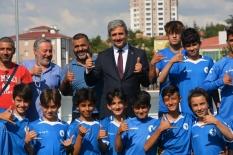 Başkan Köse'den sporculara ziyaret