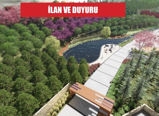 Rekreasyon alanı proje işleri yaptırılacak