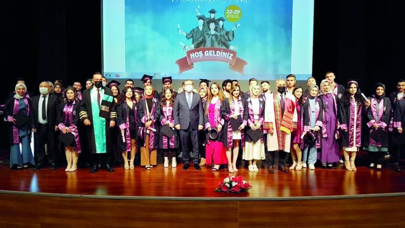 Bozok'ta mezuniyet sevinci