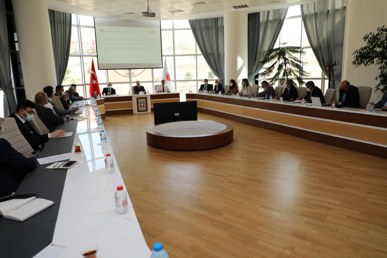 Güvenli kampüs belgesi çalışma toplantısı