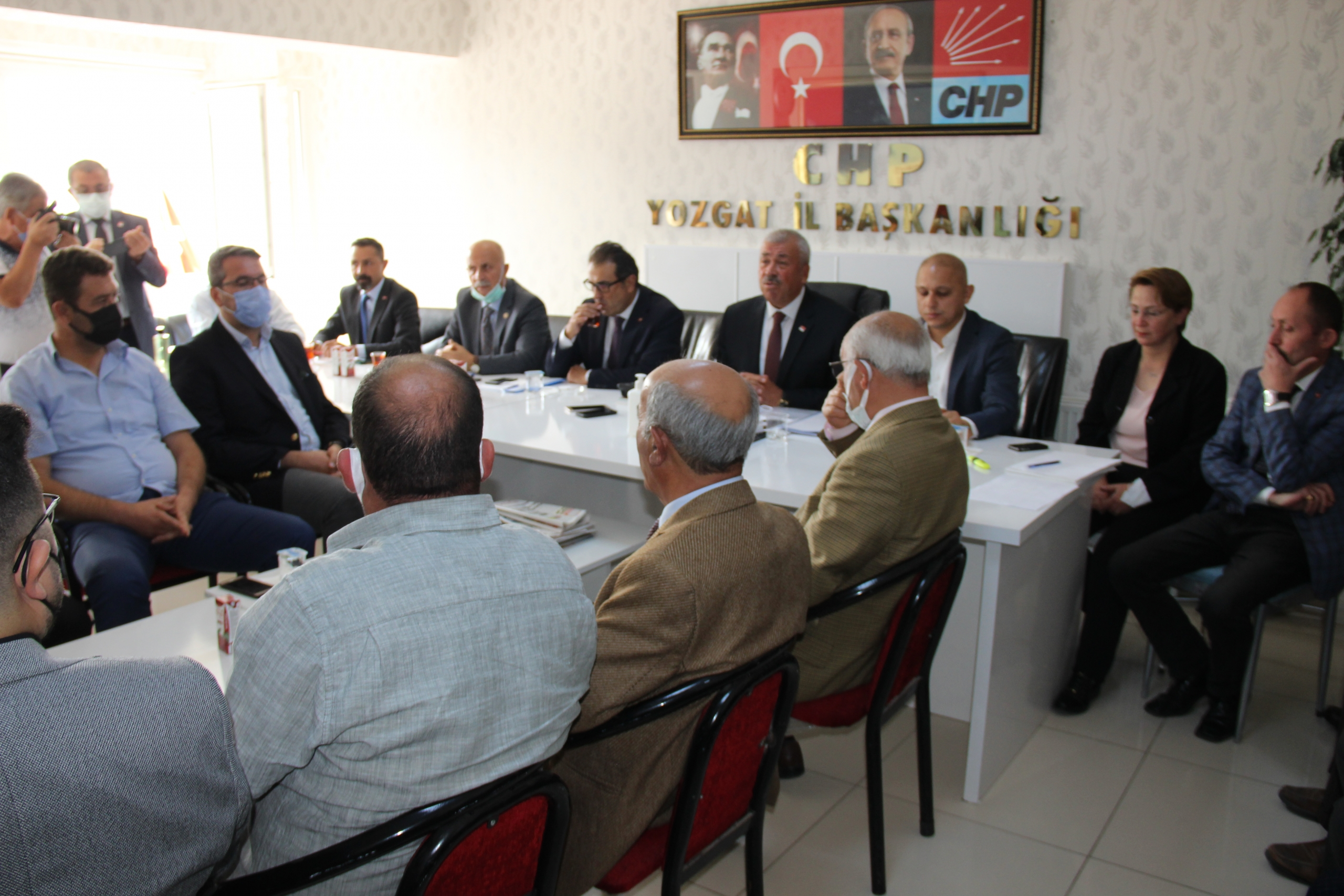CHP'li vekillerden Yozgat'a çıkarma