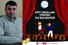 Köy okulları tiyatro ile buluşacak