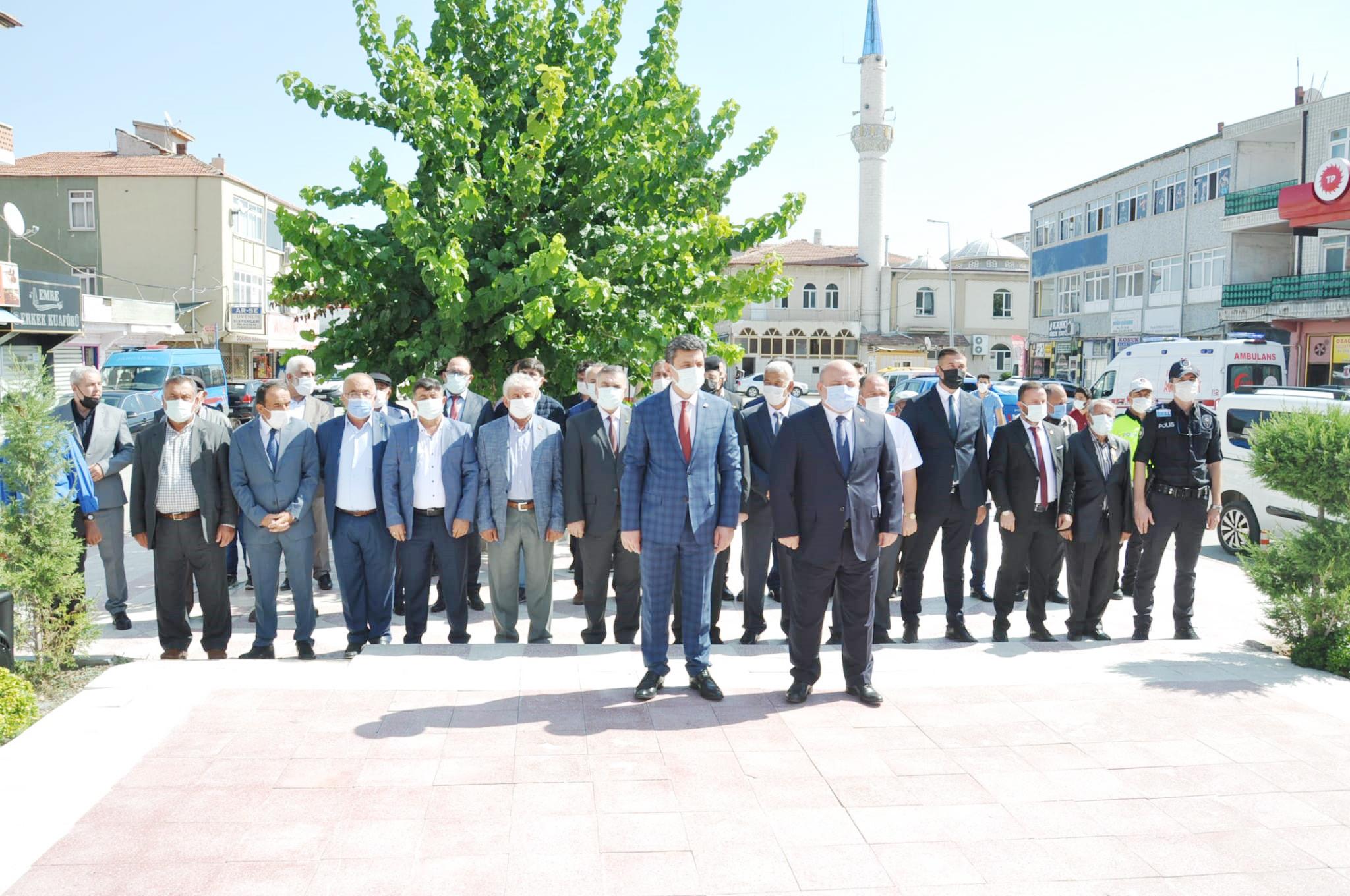"""Yerköy'de """"Gaziler Günü"""" kutlandı"""