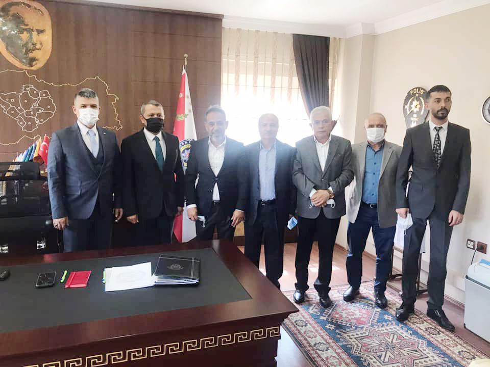 Yılmaz ve yönetiminden Esertürk'e ziyaret