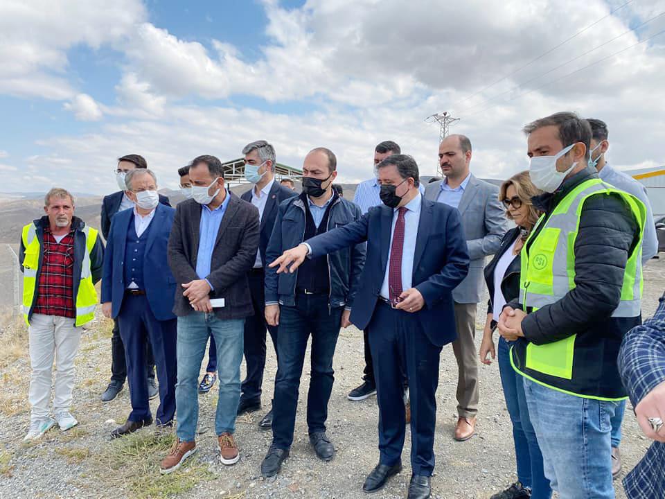 Milletvekili Başer, İnandık Baraj inşaatını inceledi