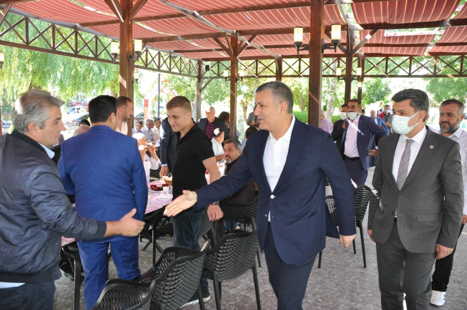 Bozkurt ve heyetinden, Başkan Yılmaz'a ziyaret