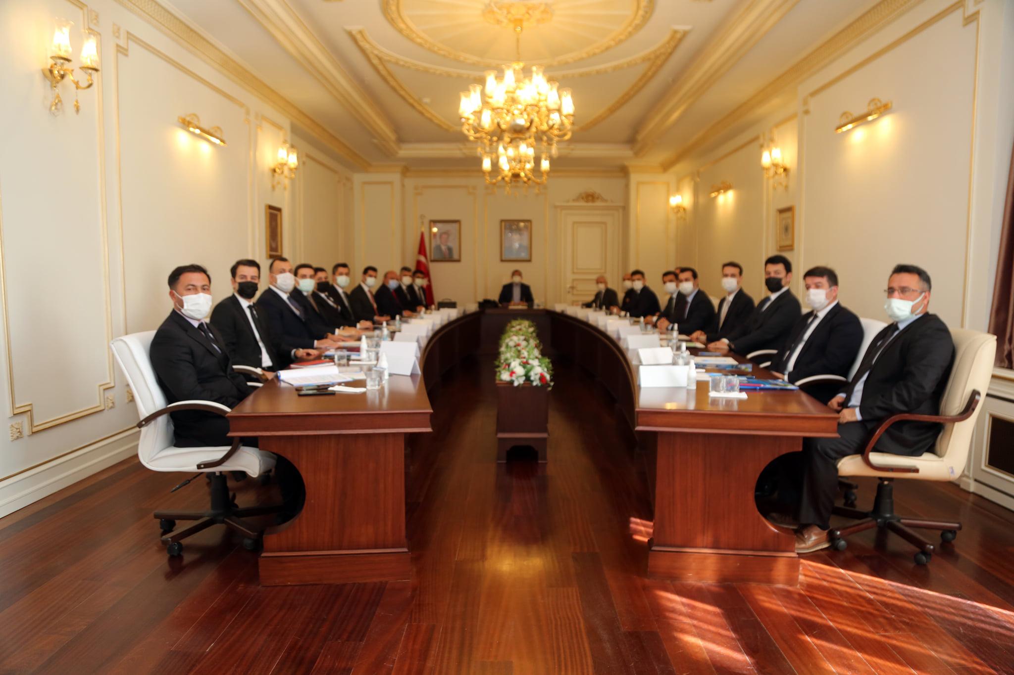 Güvenlik ve Asayiş toplantısı yapıldı