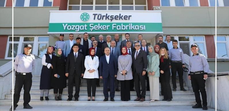 Yozgat Şeker Fabrikası'nda üretim yüzde 42 arttı