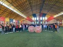 Ülkü Ocaklarından balon topu etkinliği