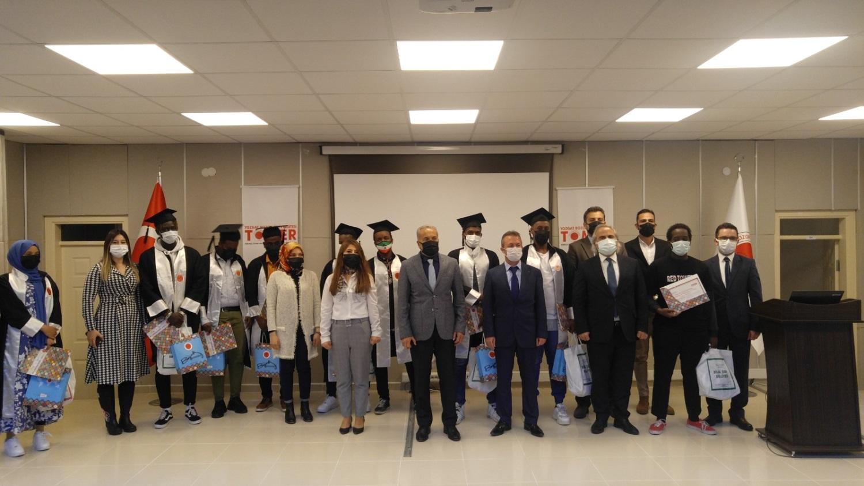 TÖMER'de mezuniyet töreni